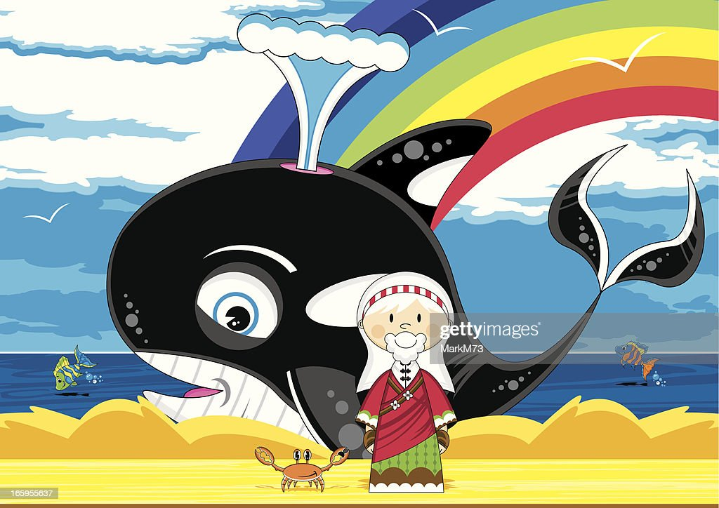 Jonah and the Whale Bible Scene