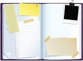 journal spread