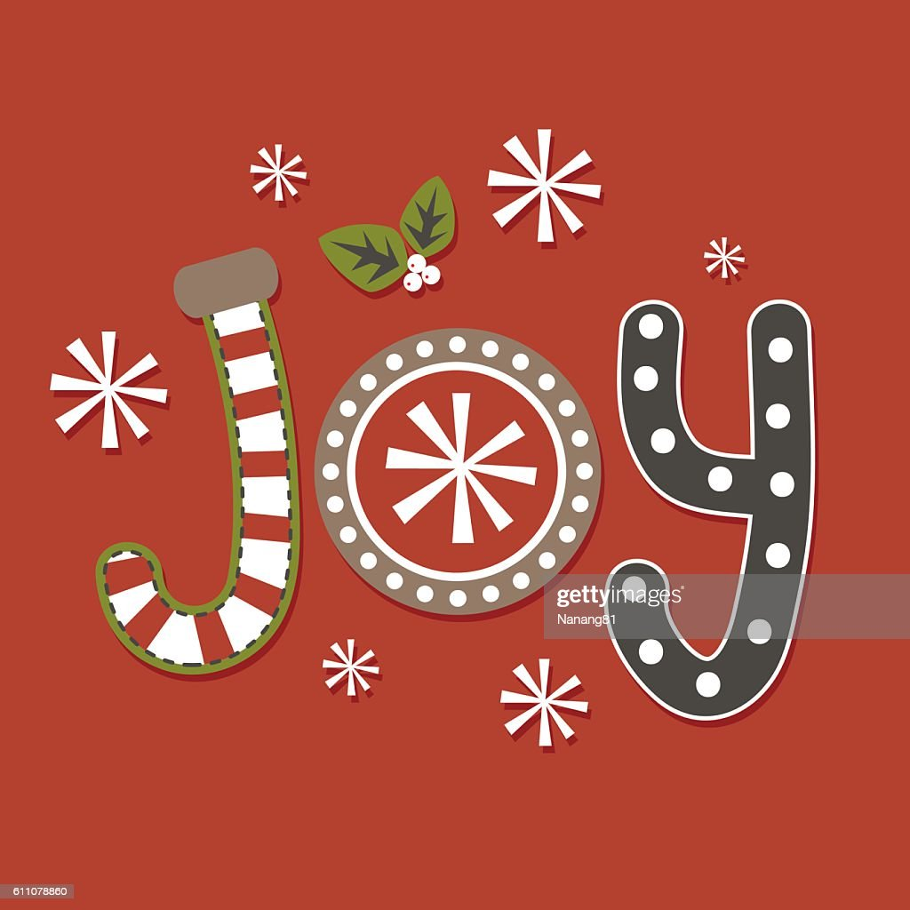 Joy Christmas Design