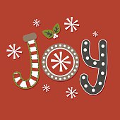 Joy Christmas Design