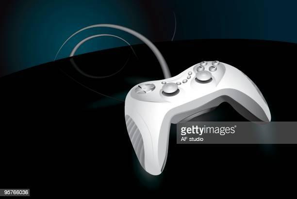 joypad - joystick stock illustrations, clip art, cartoons, & icons