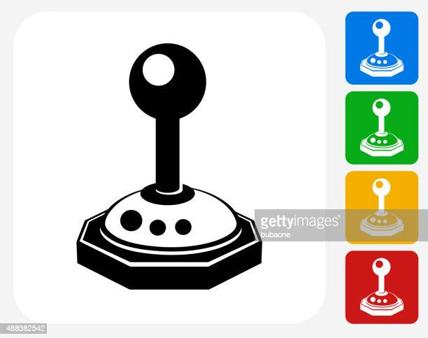 Joystick Icon Flat Graphic Design