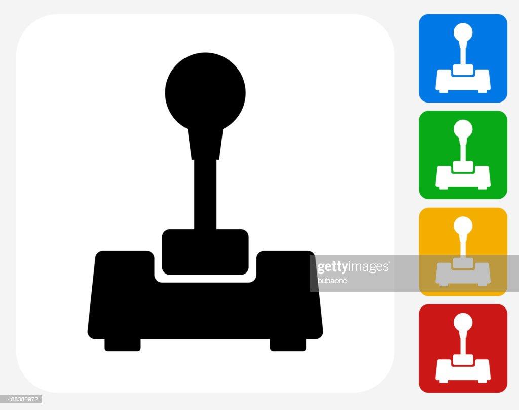 Joystick Icon Flat Graphic Design : stock illustration