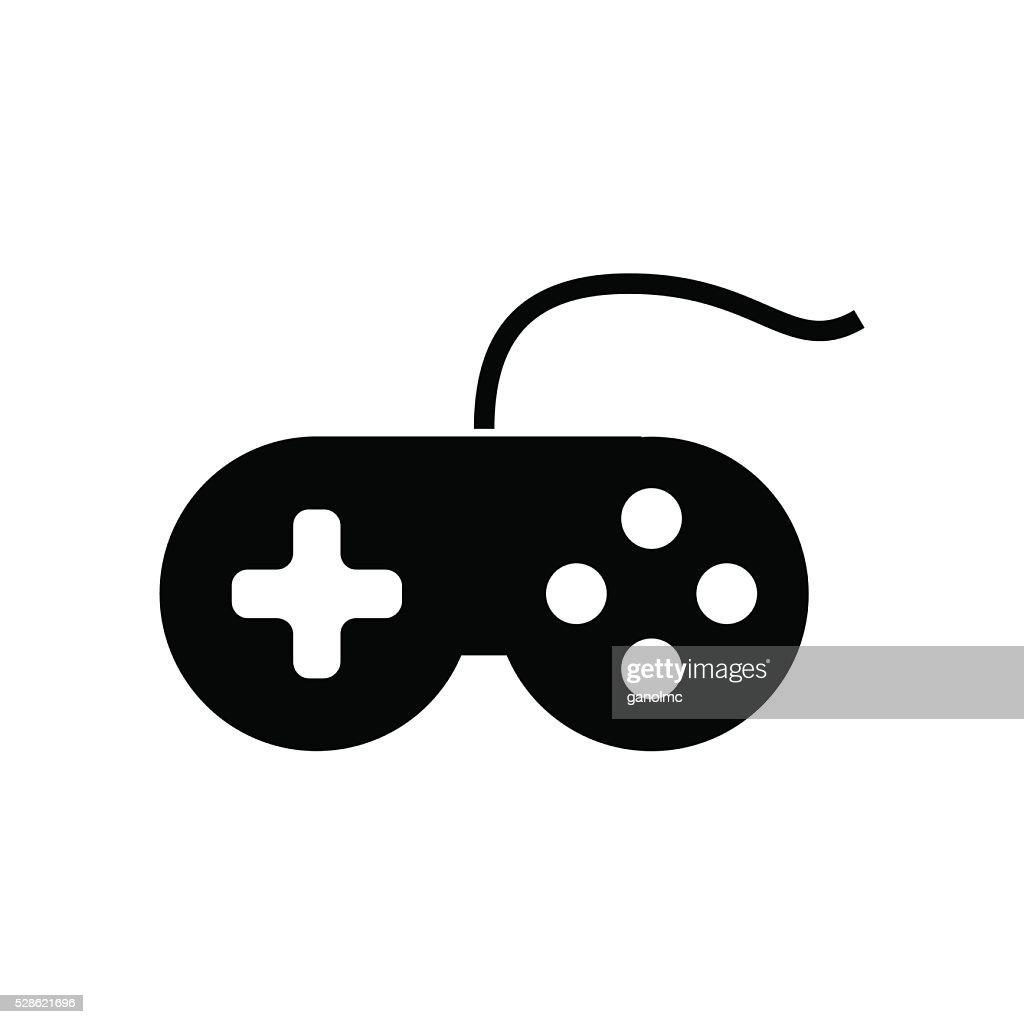 Joystick icon. Vector illustration