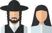 Judaic man and woman