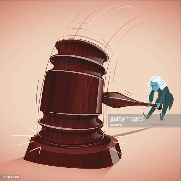 richter entscheidungen - verteidiger jurist stock-grafiken, -clipart, -cartoons und -symbole