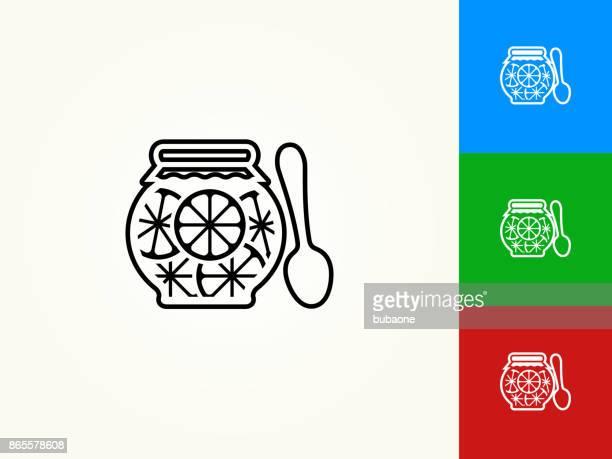 Juice Black Stroke Linear Icon