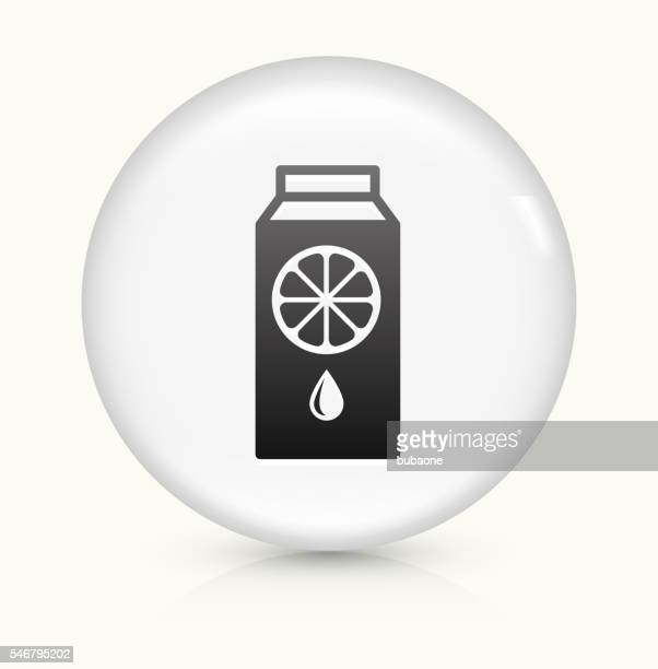 Juice icon on white round vector button