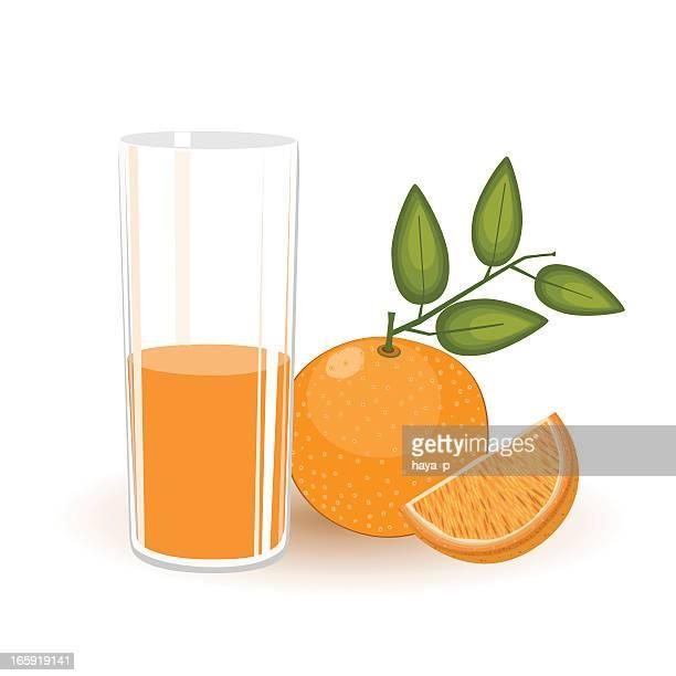 juice orange and fruit - orange juice stock illustrations, clip art, cartoons, & icons