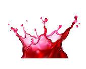 juice splash 3d