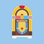 Jukebox Flat Icon