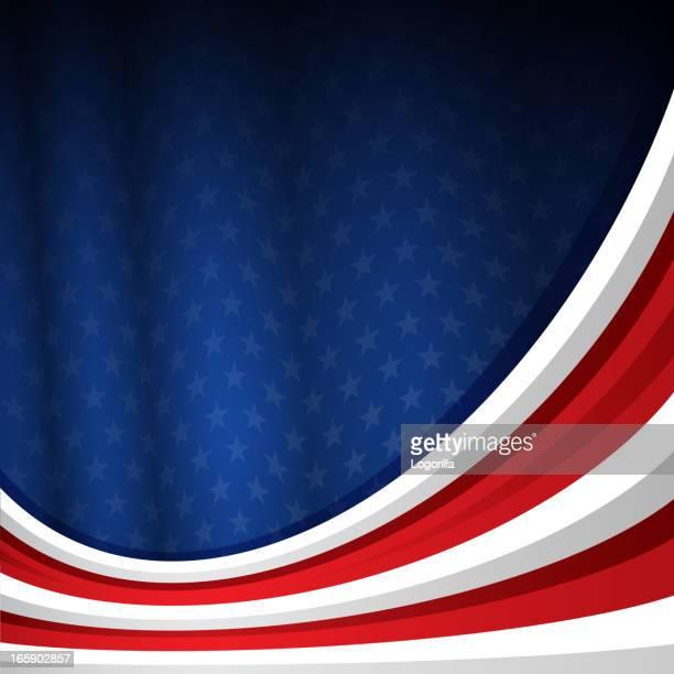 july 4th background - politics background stock illustrations