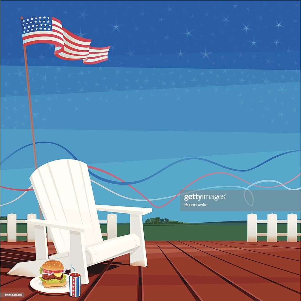 July 4th (USA Celebration Background)