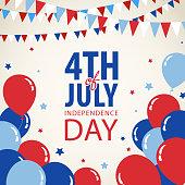 July Fourth Invitation
