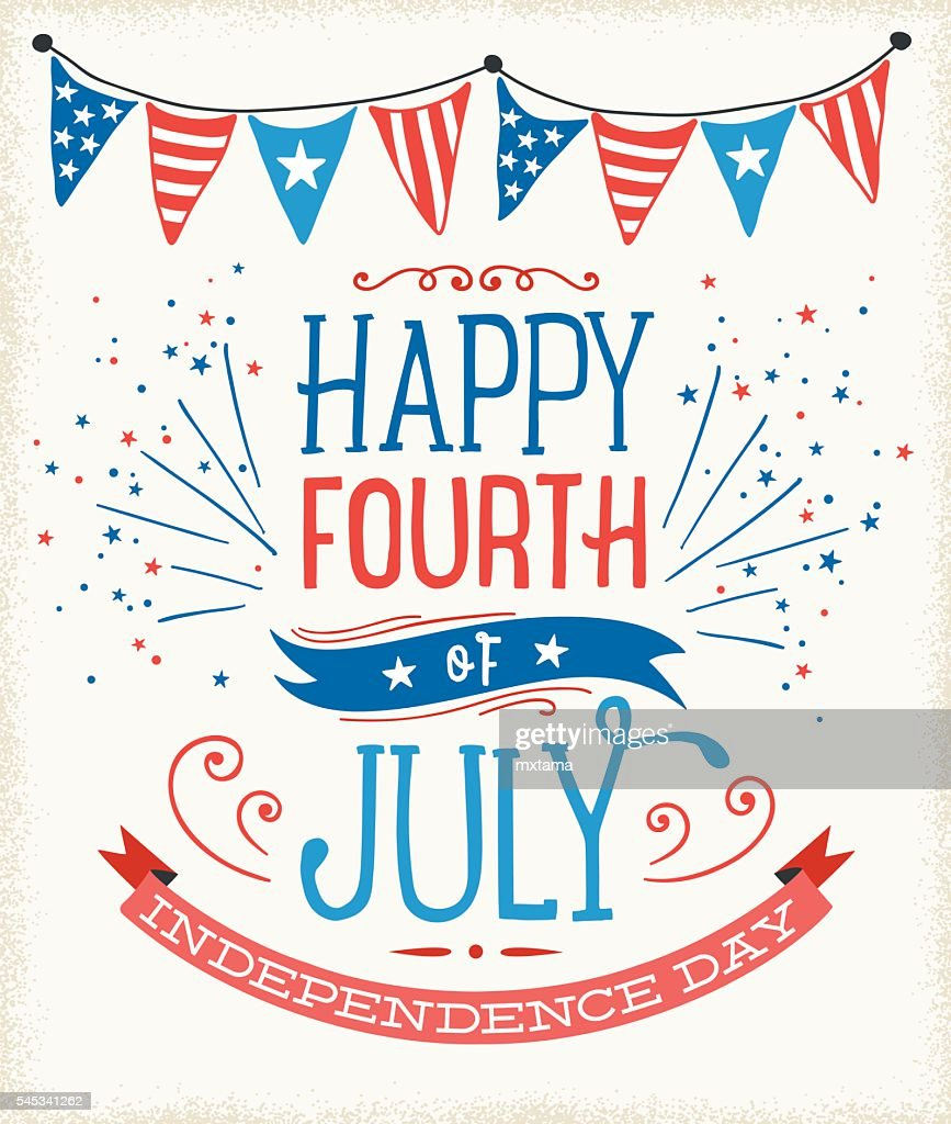 July Fourth Sign