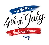 July fourth, United Stated independence day greeting