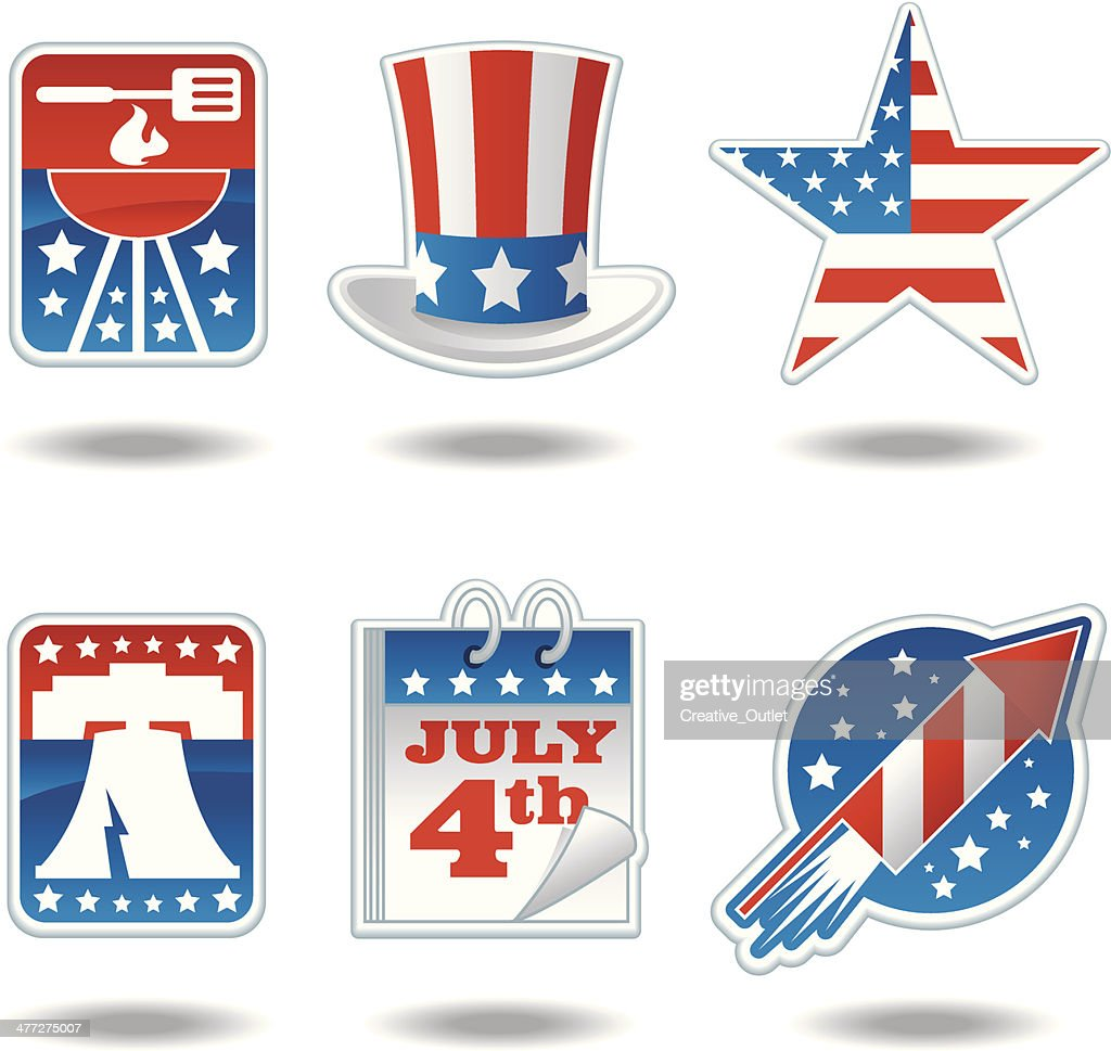 July4th Icons