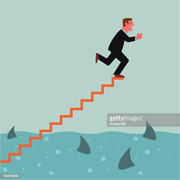 jump to the sharks - infestation stock illustrations, clip art, cartoons, & icons