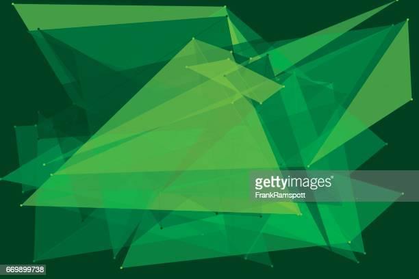 Dschungel-Polygon-Muster-Horizontal