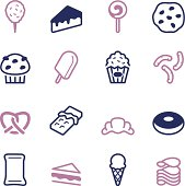 Junk Food Icons - Color Series