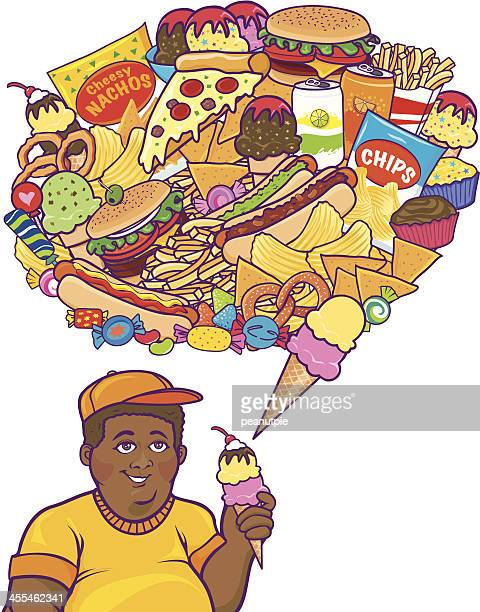 Junk Food Thoughts Black Boy