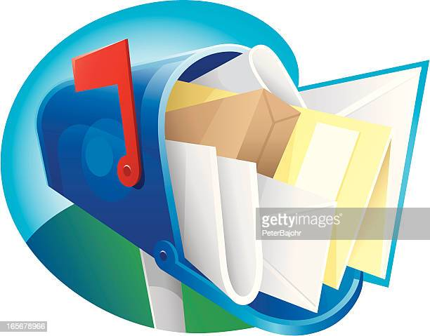 junk mail - junk mail stock illustrations