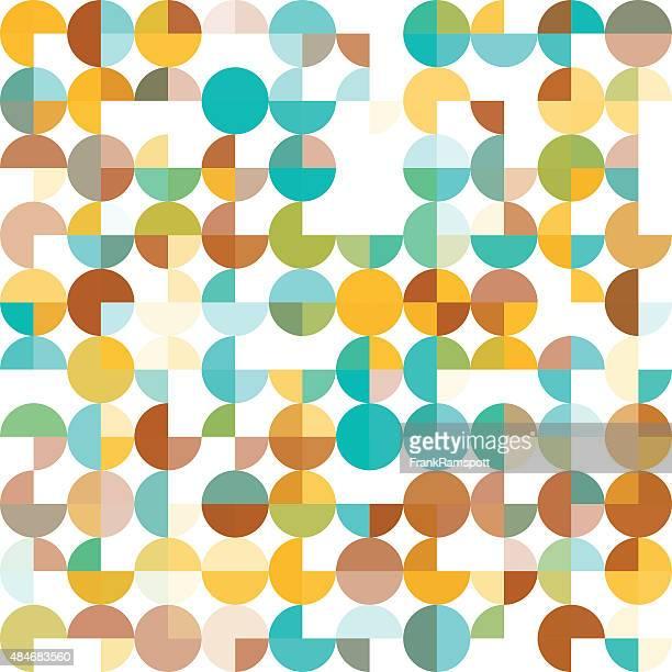 ilustraciones, imágenes clip art, dibujos animados e iconos de stock de isla de jura patrón geométrico circle pie cuadrado - frank ramspott