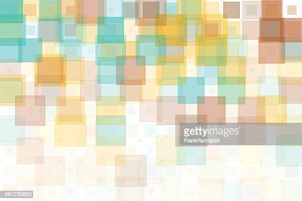 Jura geometrische Muster mit Quadraten