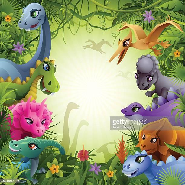 Jurassic Jungle with Dinosaurs