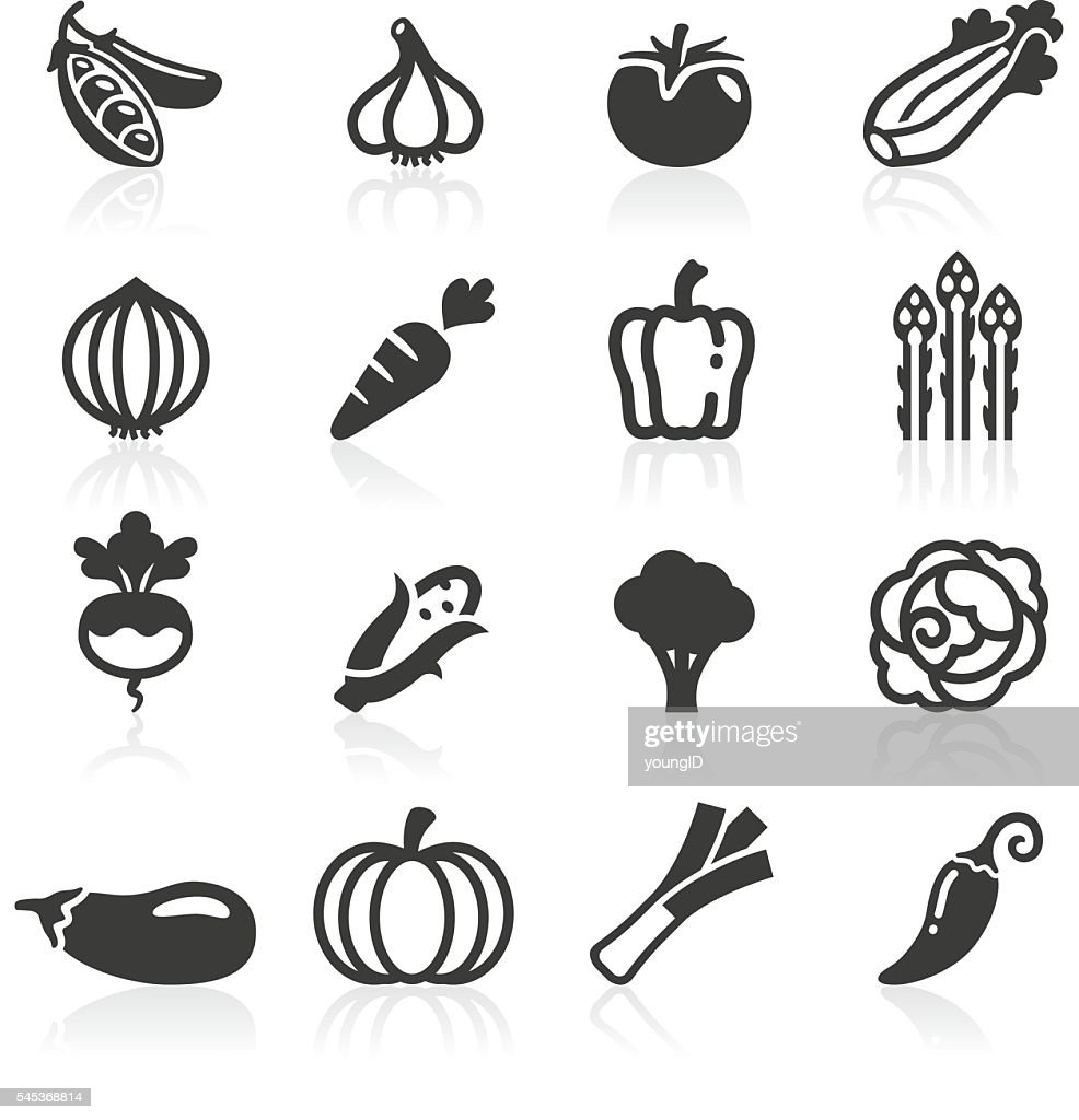 Just Vegetables Icons