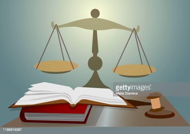justiz, recht, wirtschaftsrecht. - verteidiger jurist stock-grafiken, -clipart, -cartoons und -symbole