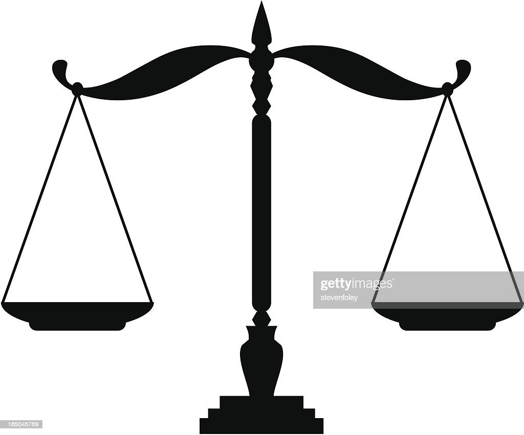 Justice scales vector art getty images justice scales vector art biocorpaavc Images