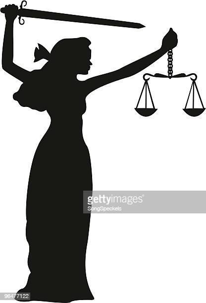 正義のシルエット