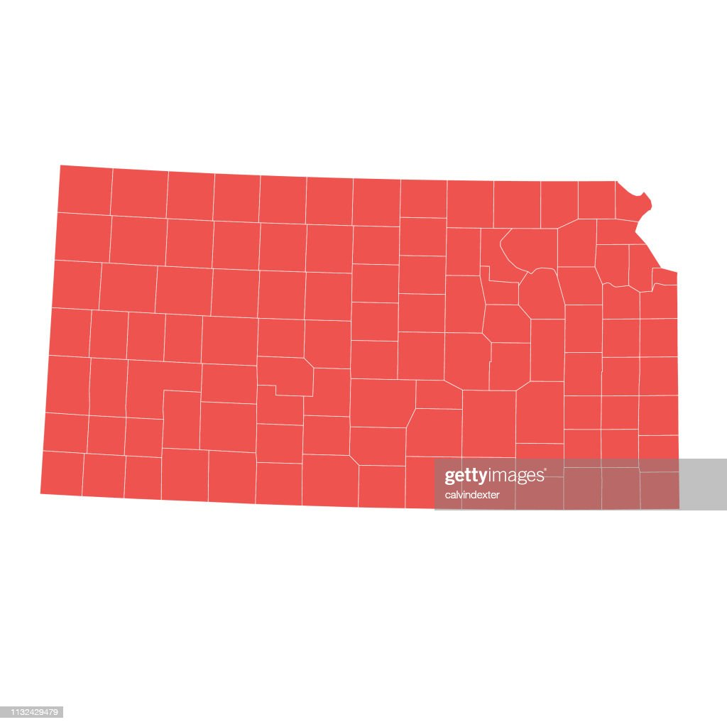 Kansas State Map With Counties stock illustration - Getty Images on idaho product map, washington product map, iowa product map, tennessee product map, kansas shape, california product map, colorado product map, georgia product map, florida product map, arizona product map, ks manhattan kansas map, kansas st, west virginia product map, new mexico product map, kansas state recipes, connecticut product map, kansas state resources, salina kansas map, wyoming product map, kentucky product map,