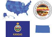 Kansas State Set
