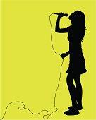 Karaoke Idol ( Vector )