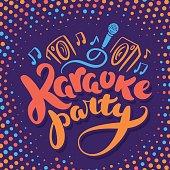 Karaoke party.
