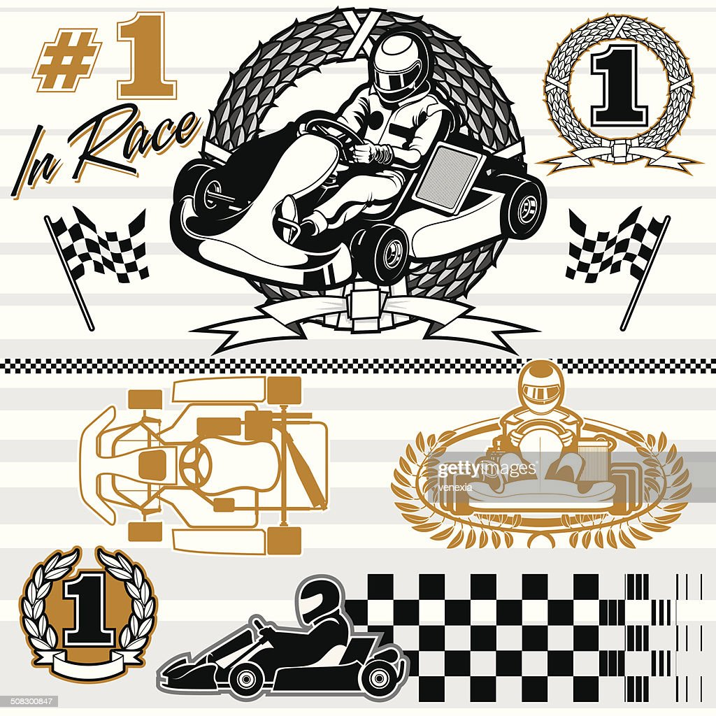 karting race set