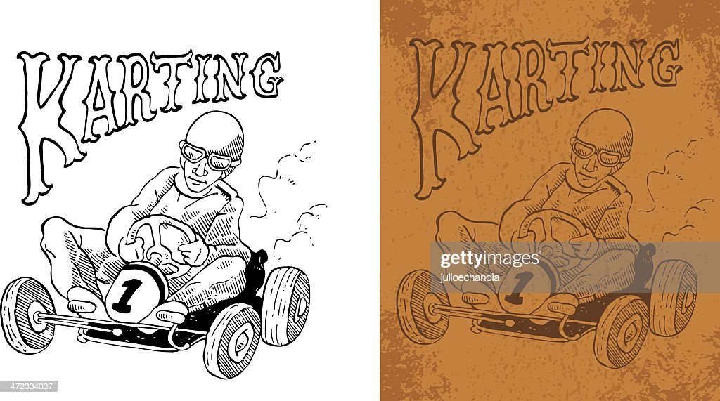 karting vintage