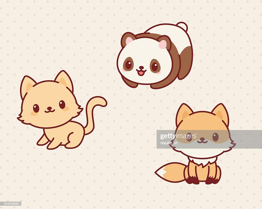 Kawaii animals