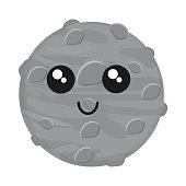 kawaii moon icon