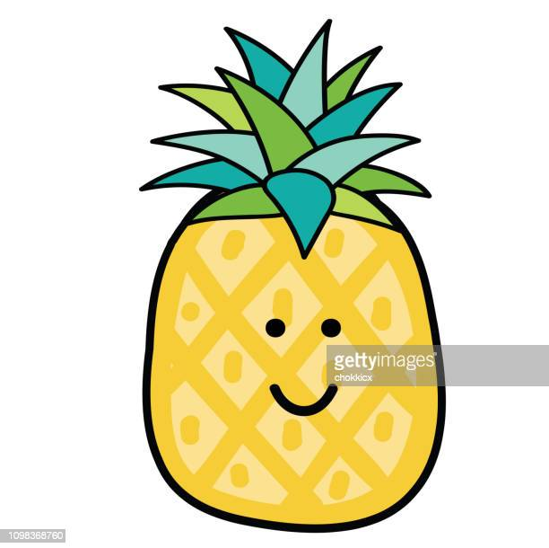 Worlds Best Pineapple Slice Stock Illustrations Getty Images