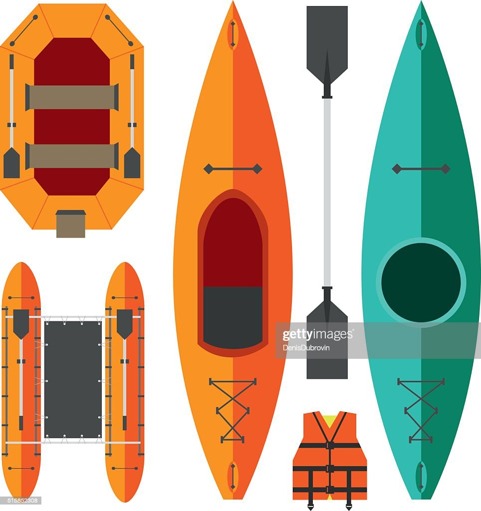 Kayak and raft boats