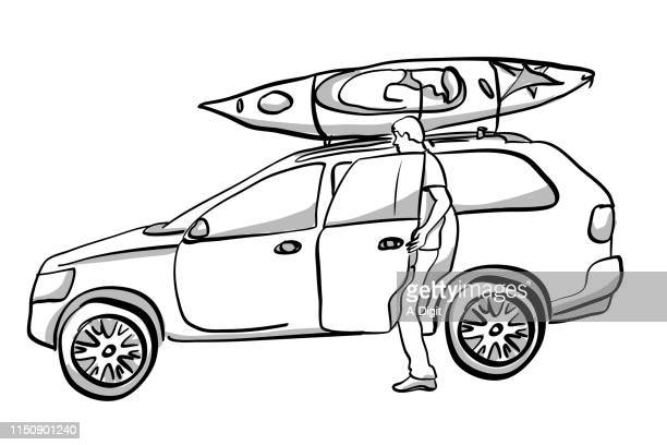 Kayak On The Car