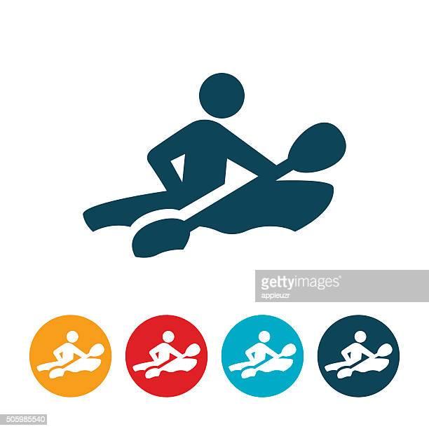 Kayaker Icon
