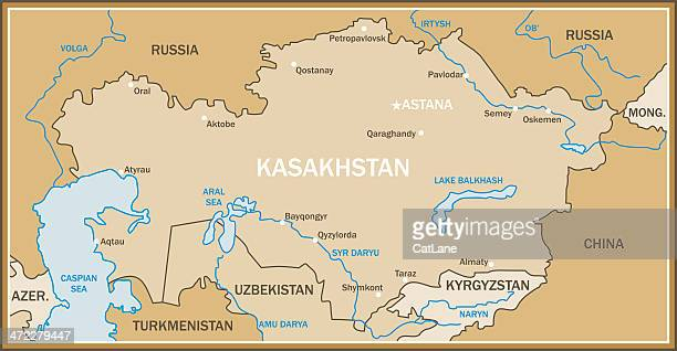 World\'s Best Caspian Sea Stock Illustrations - Getty Images