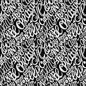 Keep calm creativity motivation-seamless hand drawn pattern, doo