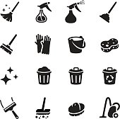 Keep Clean Vector Icon Set