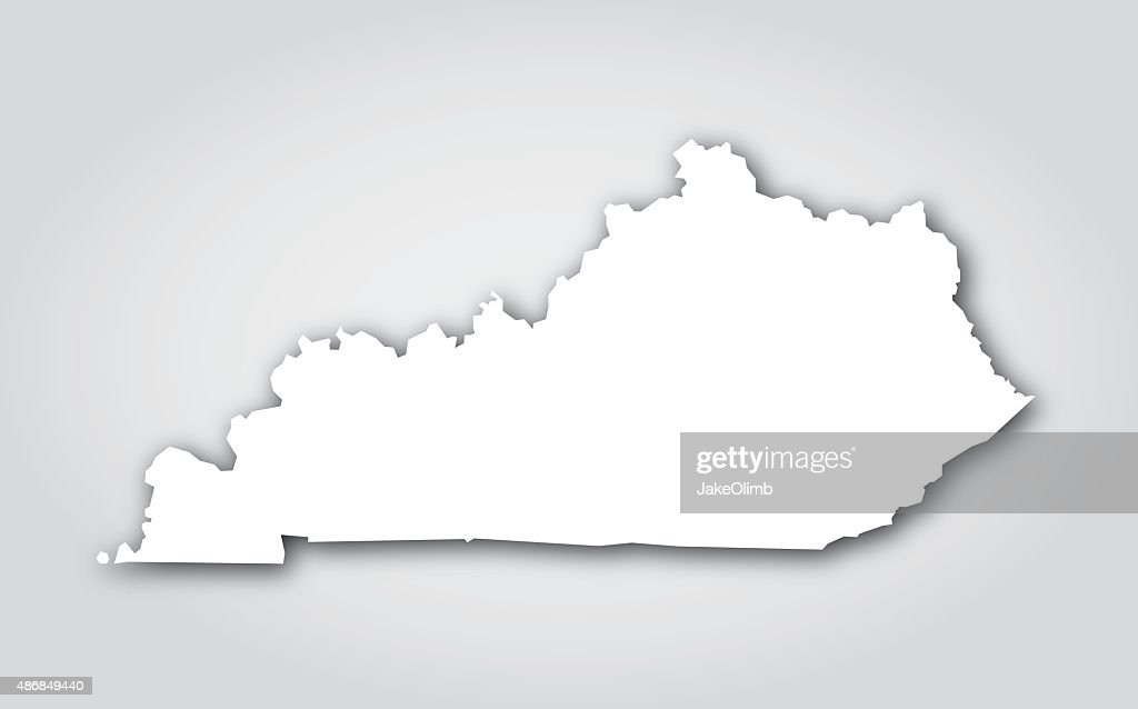 Kentucky Silhouette White