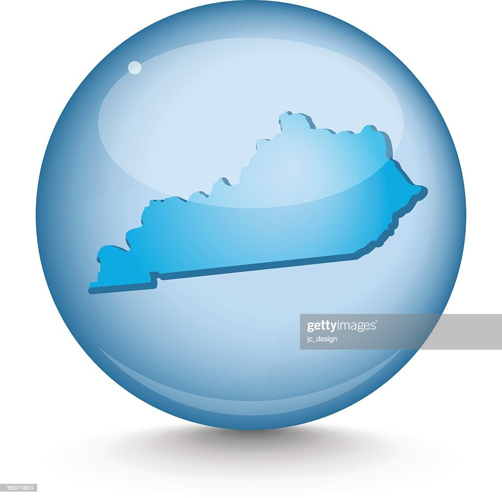 Kentucky Sphere State Series stock illustration - Getty Images on indiana map, virginia state map, massachusetts state map, minnesota map, louisiana on us map, maine state map, maryland state map, tenn state map, louisiana state map, pennsylvania state map, arkansas state map, south dakota state map, colorado state map, louisville map, texas state map, kentucky capitol building, tennessee map, new york state map, u.s map, arizona state map,